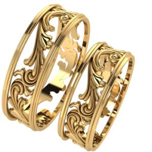 Zlaté snubní prsteny Loyaute