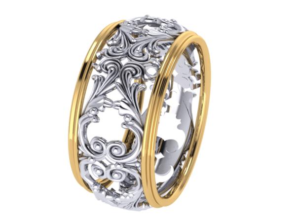Dámský zlatý prsten Marcelle