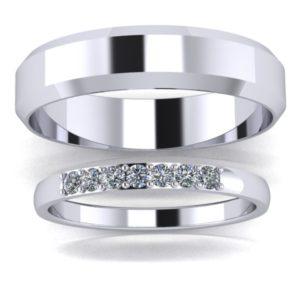 zlaté snubní prsteny Thunder