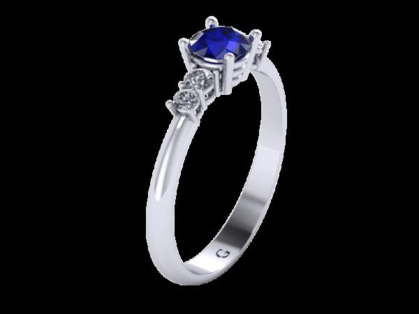 Zlatý dámský prsten Count