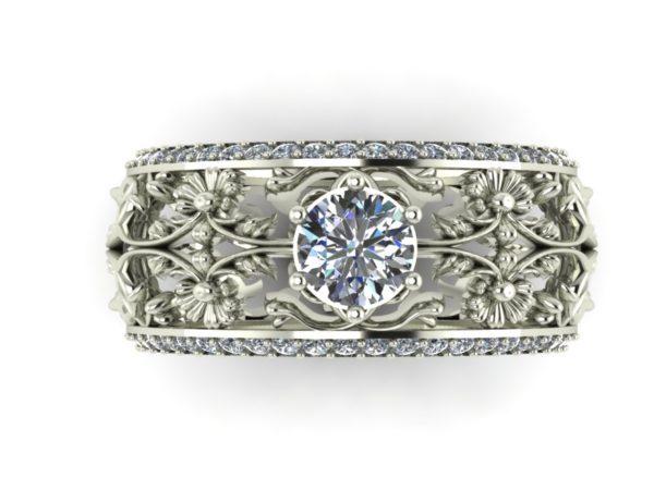 Zlatý dámský prsten Mosner