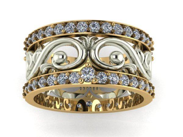 Zlaté snubní prsteny CULRED