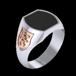 Zlatý pánský prsten Charakters