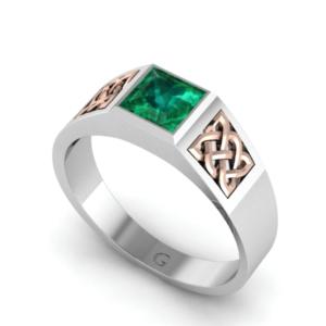 Pánský zlatý prsten ALEX