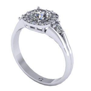 Zlatý dámský prsten Cover