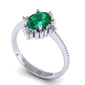 Zlatý dámský prsten Saakjan