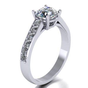 Zlatý dámský prsten Spring